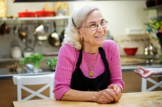 Guelph photographer Noelle O'Brien's portrait of an older Italian woman taken for a publication.