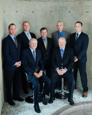 Business portraits of the executives at Canadian Equipment Financing in Breslau, Ontario.