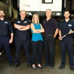 Business staff portrait of College Auto Tech taken in Guelph, Ontario.