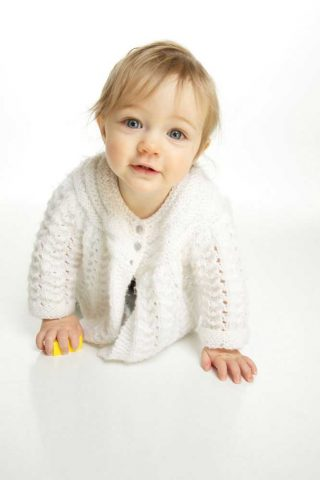 A baby portrait done in a Guelph Studio.