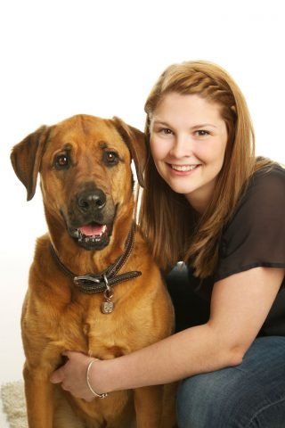 Work portrait taken by headshot photographer Trina Koster for a vet clinic.