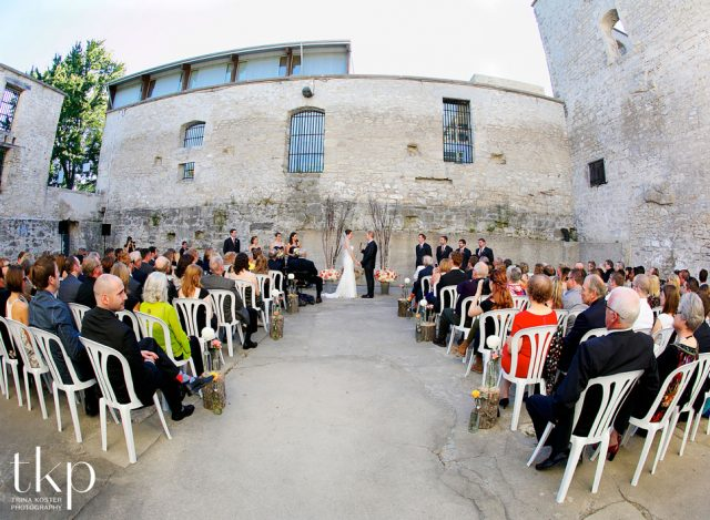 Goldie mill ruins wedding venue