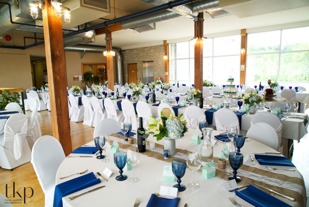 dining room at guelph youth music centre wedding venues