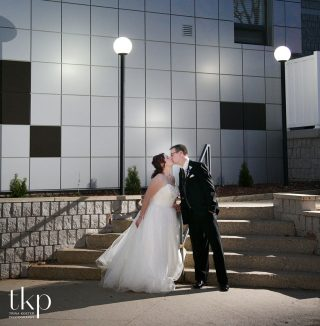 holiday inn wedding photo