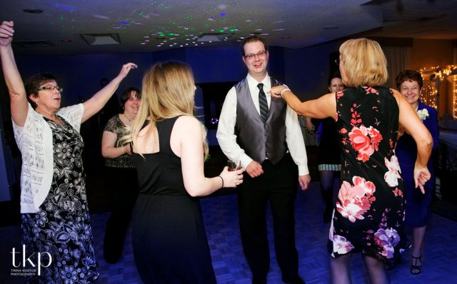 guests dancing in holiday inn