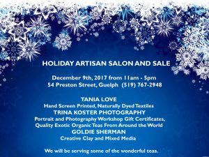 Holiday gift sale dec 9 2017